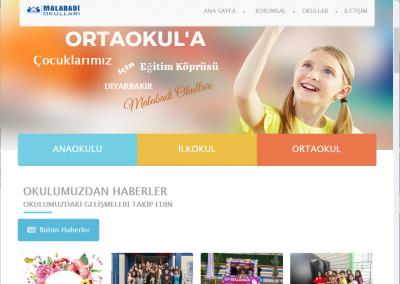 Malabadi Okulları Web Sitesi